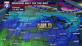 A weekend melt is on the way