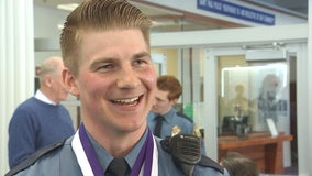 St. Paul police officer recognized for acts that helped save two gunshot victims