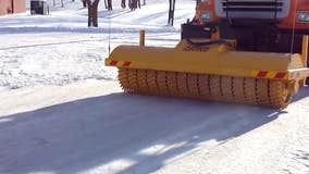 MnDOT shows off prized 'ice breaker' machine