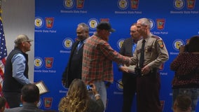 State Patrol honors power and construction workers who helped solve deadly hit-and-run case