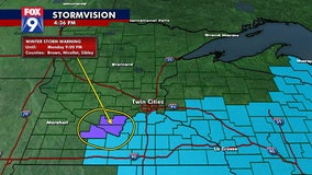 About 6-8 inches of snow expected in Brown, Nicollet, Sibley counties