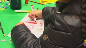 St. Paul students use art to say thanks to members of the community