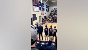 St. Peter, Minn. basketball player with Down syndrome hits buzzer-beater during game