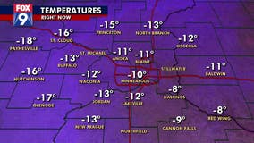 It's officially the Twin Cities' coldest morning of the season