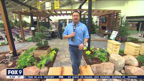 Landscaping ideas with Dale K at the Home & Garden Show