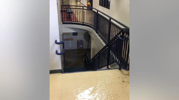 Water main break closes Annunciation School in Minneapolis