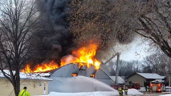 St. Peter, Minn. bowling alley appears to burn to ground in Sunday morning fire