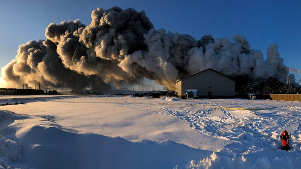 Police: Fire at Northern Metals facility in Becker, Minn. has been extinguished