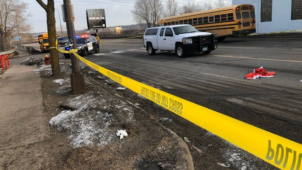 Boy, 7, in critical condition after bus stop crash in St. Paul, Minnesota
