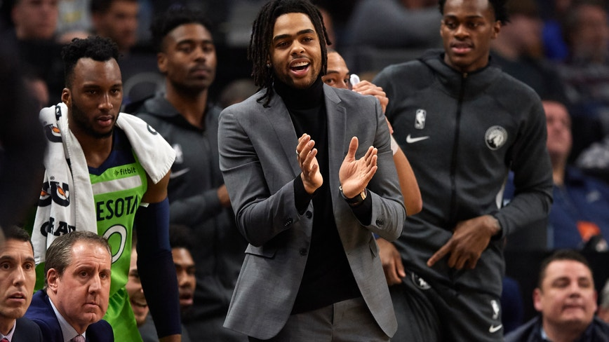 Wolves fined $25K for resting D'Angelo Russell in Nuggets game