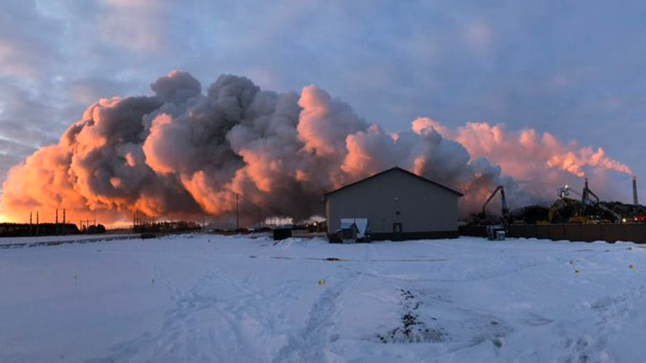 Northern Metals Recycling fire