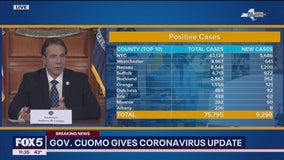 NYC coronavirus deaths jump to 1,096; statewide toll 1,550