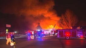 Fire destroys KinderCare day care center in Brooklyn Park, Minnesota