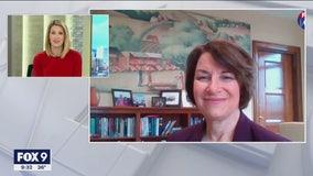 Sen. Amy Klobuchar talks with FOX 9 Morning News