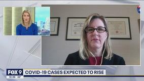 Minnesota House Speaker Melissa Hortman talks with FOX 9