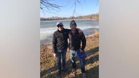 2 good Samaritans rescue snowshoer who fell through ice in Bloomington