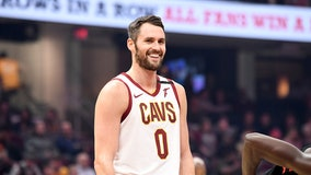 Kevin Love donates $100G to Cleveland Cavaliers, arena staff after season suspended