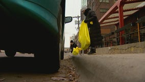 North Loop neighbors spend Saturday cleaning up trash, litter revealed during snow melt