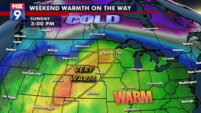 How warm can we get this weekend?