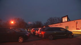 Minnesota church gives families isolation break with makeshift drive-in theater