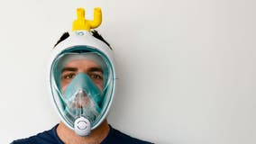 Italian engineers help coronavirus patients by harnessing snorkel masks for CPAP machines