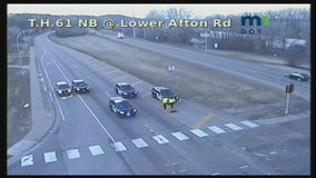 Driver running red light dies in crash on Hwy. 61 in St. Paul, Minnesota