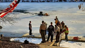 3 people, dog rescued after falling into icy water on southeastern Minnesota lake
