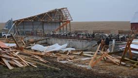 NWS: Saturday storm produced EF-1, EF-0 tornadoes in Wisconsin, Iowa