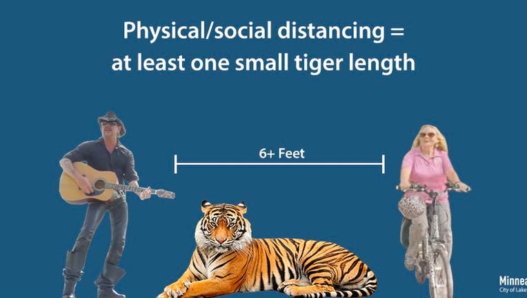 Minneapolis uses 'Tiger King' to demonstrate social