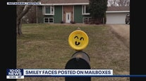 Minnesota Positivity: Smileys on mailboxes