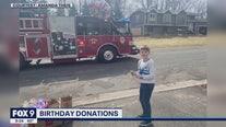Positive Moments: Birthday donations