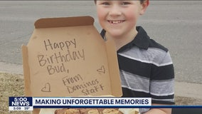 Positive Moments: Birthday Domino's delivery