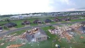 Coronavirus-hit Mississippi, Louisiana, pounded by tornadoes, at least 17 dead in region