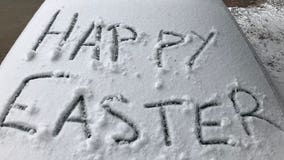 Snow totals: Minneapolis, St. Paul measure 5 inches after Easter Sunday snowstorm