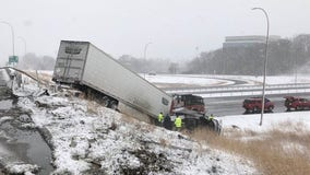 State Patrol: 140 crashes, 1 death reported on Minnesota roads Sunday