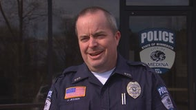 Medina police officer revives 4-week-old baby with CPR