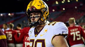 Gophers' defensive lineman Sam Renner hopes to go from walk-on to NFL