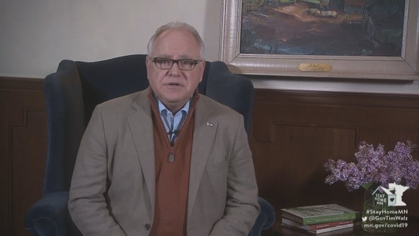 'The sun will shine': Gov. Walz assures Minnesota will make it through pandemic during address