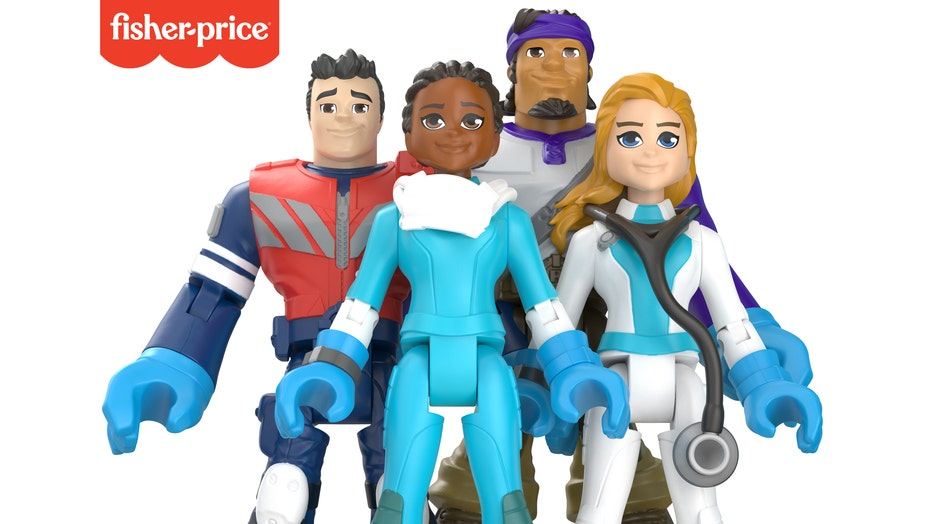 16x9 Fisher-Price #ThankYouHeroes Group