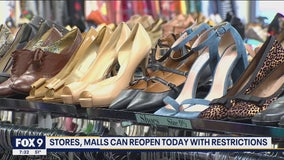 Retail, malls can reopen with restrictions - what to expect as you return to your favorite store