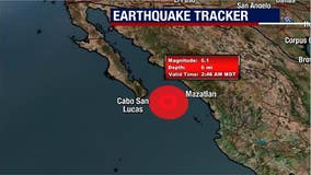 6.1-magnitude earthquake strikes in ocean west of Mexico