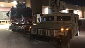 How the Minnesota National Guard responded to the Floyd protests in Minneapolis and St. Paul Thursday night