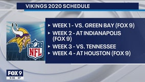 Takeaways: Vikings release 2020 schedule