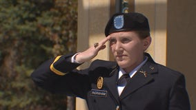 Minnesota woman celebrates military college commissioning ceremony virtually