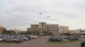 National Guard performs 2nd round of flyovers to honor COVID-19 workers throughout Greater Minnesota