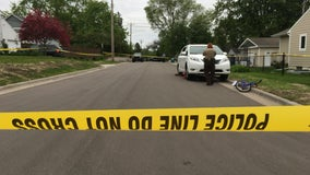 Child riding bike hit by vehicle in Edina
