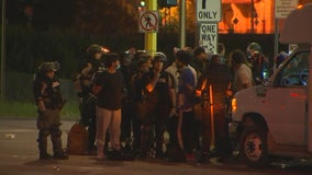 Police make arrests in Minneapolis as some ignore curfew order