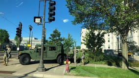 Minnesota National Guard moves into Twin Cities as state works to crack down on riots