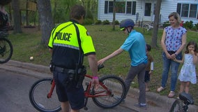After bandit makes off with boy's bike, St. Paul police deliver a replacement