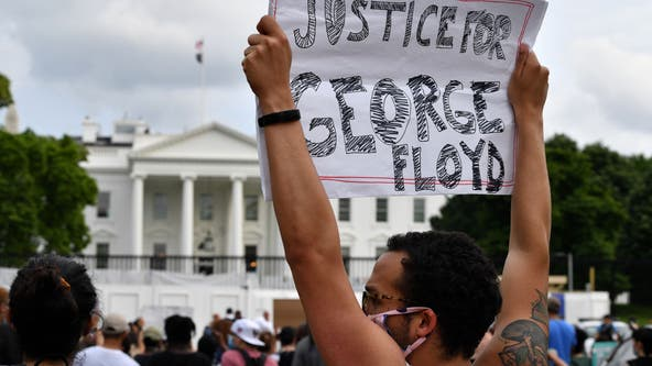 Crowds gather outside White House as unrest spreads to Atlanta, DC, NYC after George Floyd death